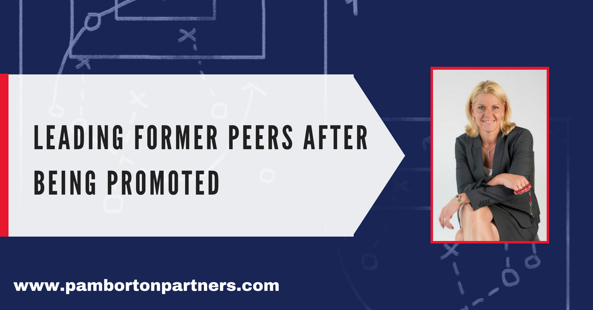 Leading Former Peers After Being Promoted